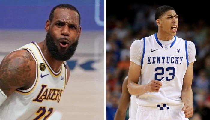 NBA Les stats dingues d'AD à la fac