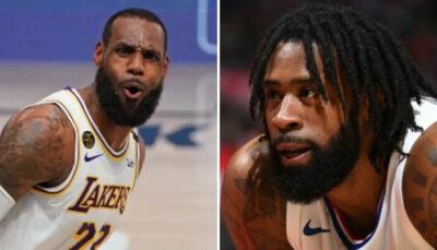 NBA – À peine arrivé, DeAndre Jordan lâche une grosse punchline sur Lakers et Clippers !