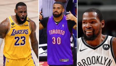 NBA – LeBron et Kevin Durant envoient un message à Drake !