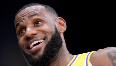 NBA LeBron a le droit à une grosse surprise