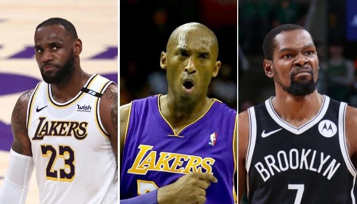 NBA Le reproche de Kobe pour LeBron et KD