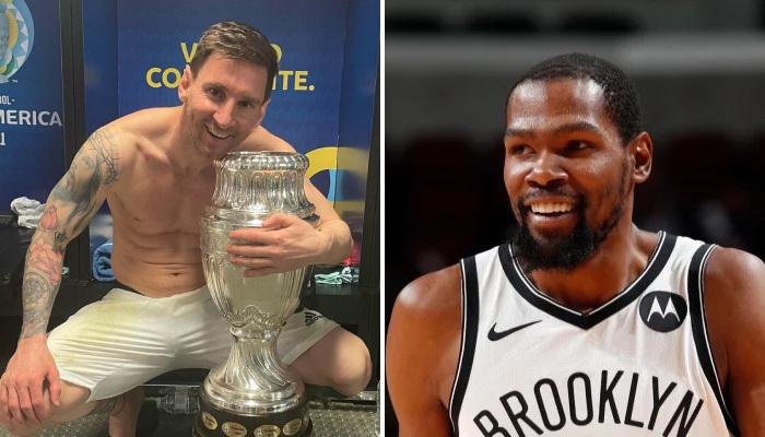 NBA Kevin Durant adore les voitures, Messi aussi