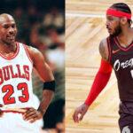 NBA – Le conseil de Jordan qui a changé la carrière de Melo