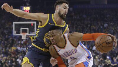NBA – 2K22 : Énorme polémique concernant Russell Westbrook et Klay Thompson