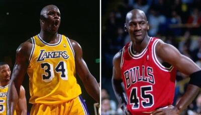 NBA – L'exploit fou que Michael Jordan et le Shaq se partagent