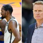 NBA – Taclé par KD et Draymond, Steve Kerr répond cash !