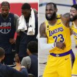 NBA – L'ahurissant domaine où les Lakers pilonnent… Team USA !