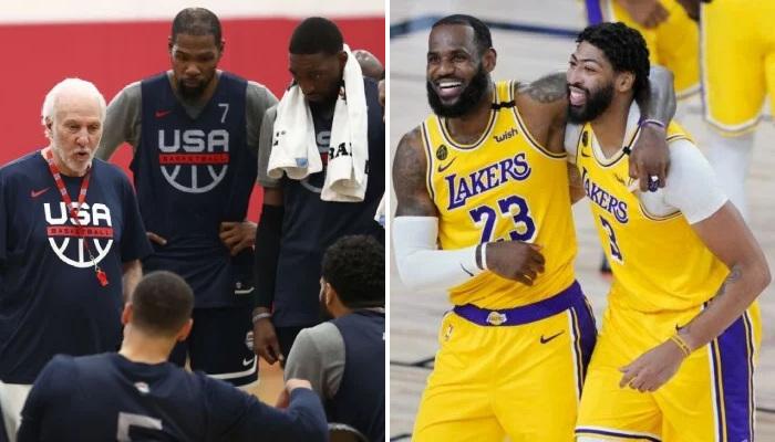 NBA La stat où les Lakers démontent Team USA