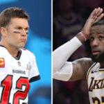 NBA – Pour la reprise NFL, LeBron envoie un message à Tom Brady !