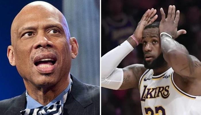 NBA LeBron se fait ségommer par KAJ