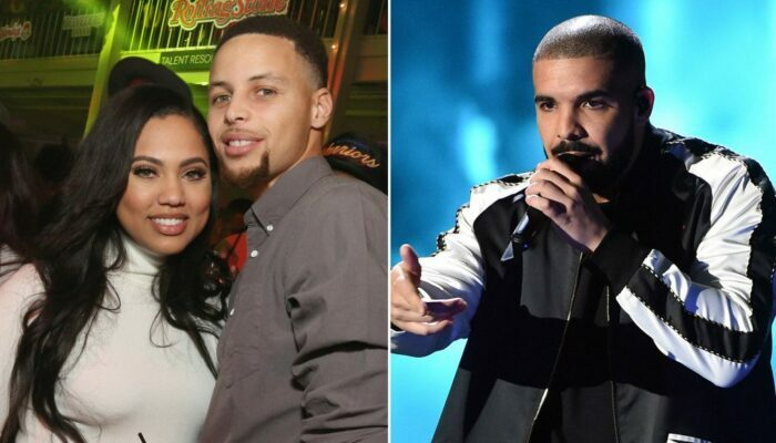 Ayesha Curry, Steph Curry et Drake