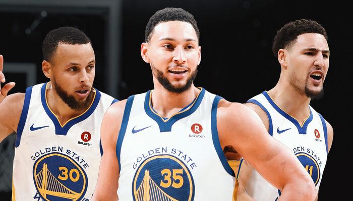 Steph Curry, Ben Simmons et Klay Thompson réunis aux Warriors ?