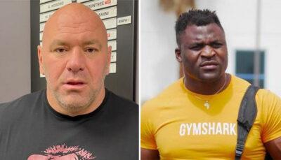 UFC – En colère, Francis Ngannou déclare la guerre à Dana White !
