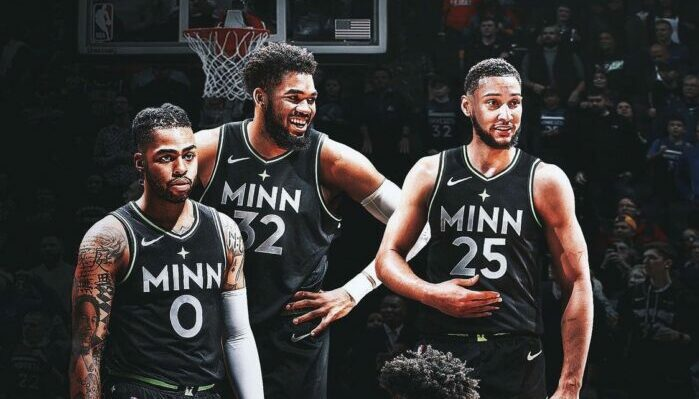 D'Angelo Russell, Karl-Anthony Towns et Ben Simmons aux Wolves ?