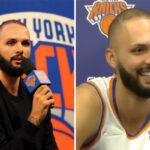 NBA – La blague hilarante d'Evan Fournier à son media day !