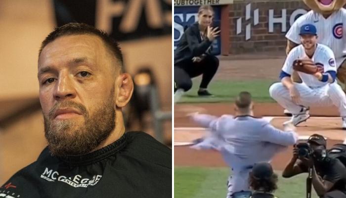 En visite à Chicago, Conor McGregor a subi les moqueries de la toile pour un gros fail