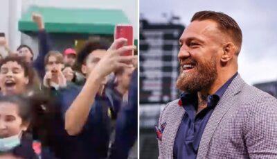 UFC – Scènes de folie pendant la visite de Conor McGregor dans un lycée américain !