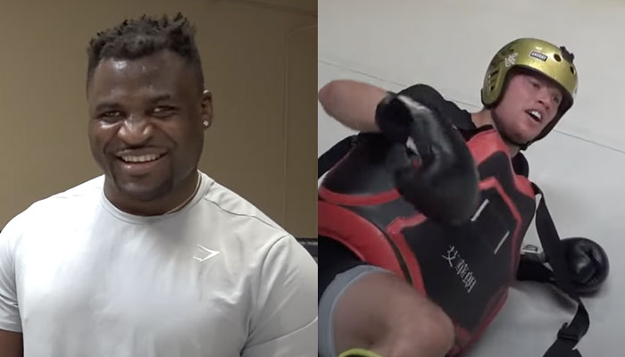 Francis Ngannou humilie le youtubeur willy