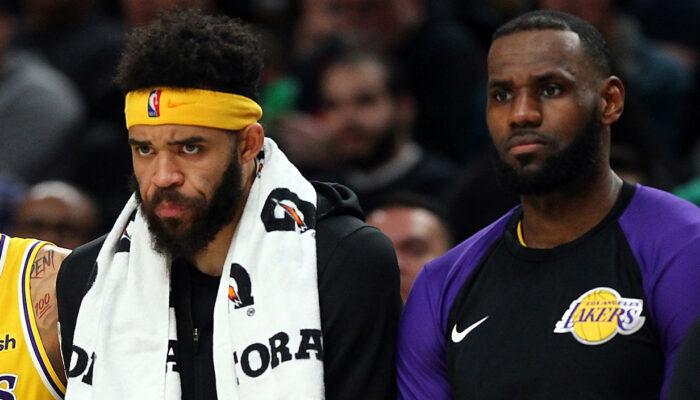 JaVale McGee et LeBron James aux Lakers