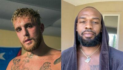 UFC – La superstar Jon Jones envoie un message à Jake Paul !