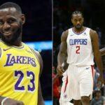 NBA – LeBron hilare après l'attitude virale de Kawhi et Paul George !