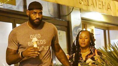 NBA – En pleine nuit, LeBron débusqué par une foule euphorique en Italie !