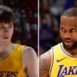 NBA – Le rookie Austin Reaves révèle ce qui a été dit dans le vestiaire des Lakers