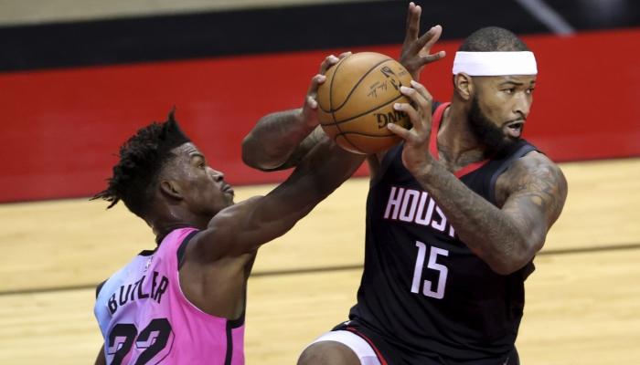 Les joueurs NBA Jimmy Butler (Miami Heat) et DeMarcus Cousins (Houston Rockets) bientôt coéquipiers ?