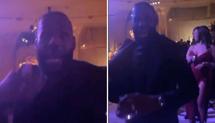 Complètement déchainé sur la piste de danse, LeBron James a a vu les vidéos de ses exploits lors du mariage d'Anthony Davis faire le tour des réseaux sociaux