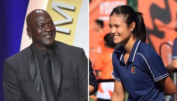 La légende NBA des Chicago Bulls, Michael Jordan, a récemment intégré une liste dressée par la sensation du tennis féminin, récente vainqueur de l'US Open, Emma Raducanu