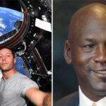 NBA – Le clin d'oeil de Thomas Pesquet à Michael Jordan… depuis l'espace !