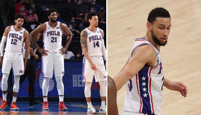 Les joueurs des Philadelphia 76ers, Tobias Harris, Joel Embiid et Danny Green, ont récemment essuyé un vent de la part de leur coéquipier, le meneur star de NBA Ben Simmons