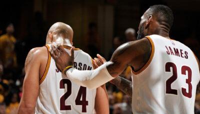 NBA – LeBron se prend un couteau dans le dos de Richard Jefferson