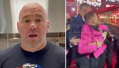 UFC – Dana White réagit cash au dérapage de Conor McGregor aux MTV Awards !