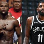 NBA – En pleine tempête, Floyd Mayweather envoie un message à Kyrie Irving !