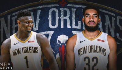 Karl-Anthony Town sous le maillot des Pelicans