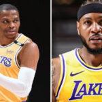 NBA – Westbrook et Melo, le chiffre douche froide