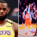 NBA – LeBron a-t-il tenté un vilain geste face aux Suns ?
