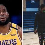 NBA – La folle poussée de croissance de Bryce, l'autre fils de LeBron !