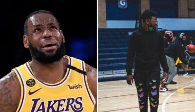 NBA La grosse poussée de croissance de Bryce James
