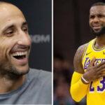 NBA – Manu Ginobili envoie un tacle indirect à LeBron James !