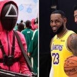 NBA – LeBron et AD donnent un avis tranché sur Squid Game, la série évènement
