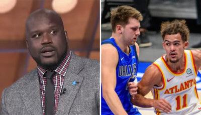 NBA Shaq en sueurs devant Tyler Herro