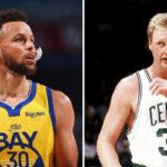 NBA – La décla choc de Larry Bird sur Steph Curry