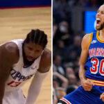 NBA – L'incroyable échange entre Curry et Paul George en plein match !
