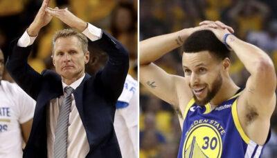 NBA La phrase choc de Steve Kerr sur Curry
