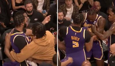 Grosse altercation entre Anthony Davis et Dwight Howard NBA