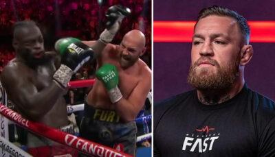 UFC – L'avis honnête de Conor McGregor sur le combat Tyson Fury vs Deontay Wilder