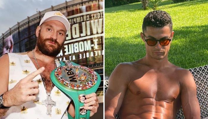 Le champion WBC des poids lourds, Tyson Fury, a adressé un message à la star du football portugais et attaquant de Manchester United, Cristiano Ronaldo