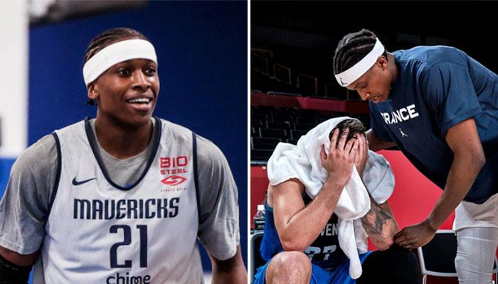 Ntilikina révèle ce qu'il a dit à Luka lors de la photo virale NBA